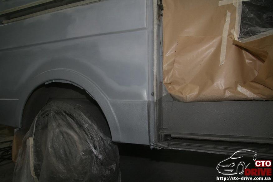 polnaya pokraska mikroavtobusa volkswagen lt 28 0720 Полная покраска микроавтобуса   Volkswagen LT 28. Капремонт двигателя. Антикоррозийная обработка