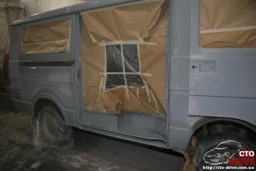 polnaya pokraska mikroavtobusa volkswagen lt 28 0728 Полная покраска микроавтобуса   Volkswagen LT 28. Капремонт двигателя. Антикоррозийная обработка