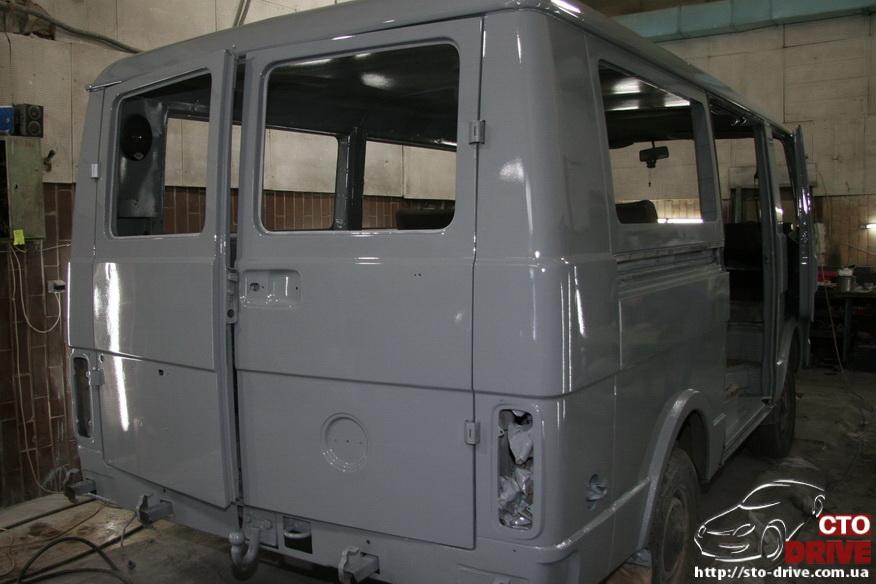 polnaya pokraska mikroavtobusa volkswagen lt 28 0749 Полная покраска микроавтобуса   Volkswagen LT 28. Капремонт двигателя. Антикоррозийная обработка