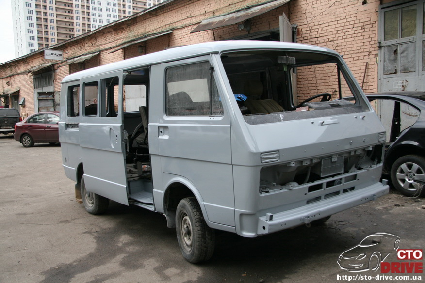 polnaya pokraska mikroavtobusa volkswagen lt 28 0791 Полная покраска микроавтобуса   Volkswagen LT 28. Капремонт двигателя. Антикоррозийная обработка