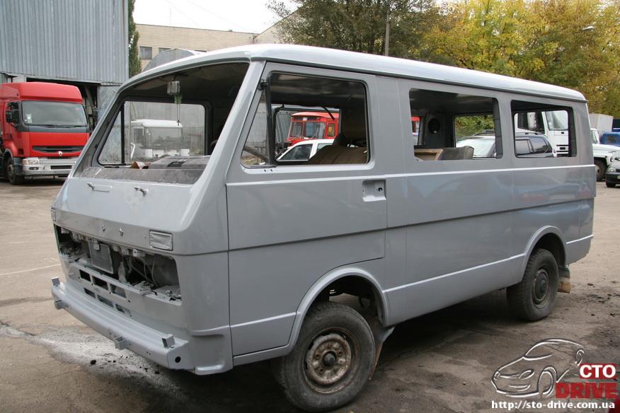 polnaya pokraska mikroavtobusa volkswagen lt 28 0794 Полная покраска микроавтобуса   Volkswagen LT 28. Капремонт двигателя. Антикоррозийная обработка