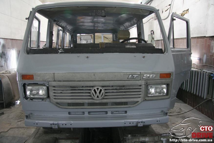 polnaya pokraska mikroavtobusa volkswagen lt 28 1863 Полная покраска микроавтобуса   Volkswagen LT 28. Капремонт двигателя. Антикоррозийная обработка