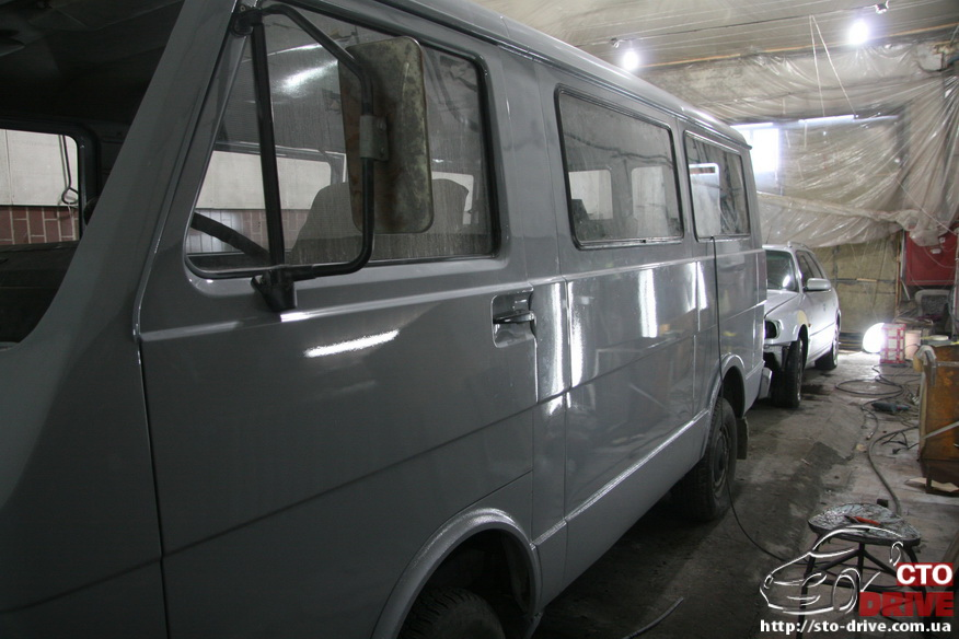 polnaya pokraska mikroavtobusa volkswagen lt 28 1877 Полная покраска микроавтобуса   Volkswagen LT 28. Капремонт двигателя. Антикоррозийная обработка