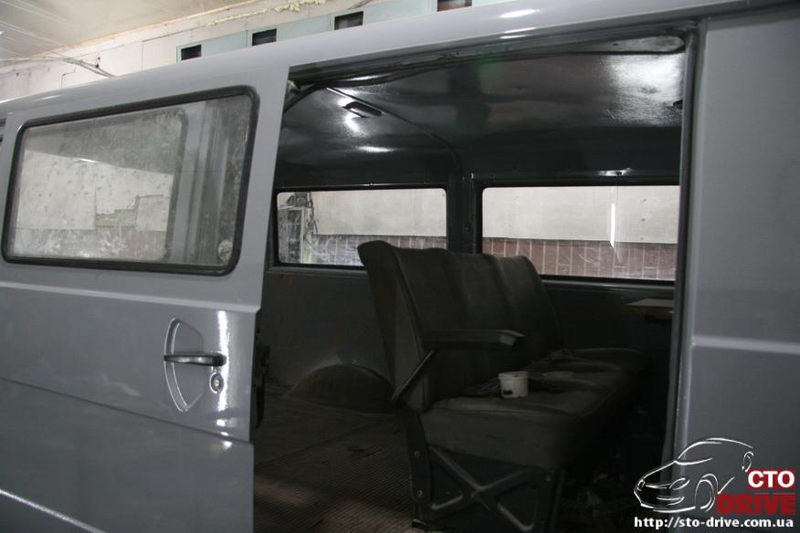polnaya pokraska mikroavtobusa volkswagen lt 28 1965 Полная покраска микроавтобуса   Volkswagen LT 28. Капремонт двигателя. Антикоррозийная обработка