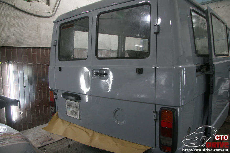 polnaya pokraska mikroavtobusa volkswagen lt 28 1998 Полная покраска микроавтобуса   Volkswagen LT 28. Капремонт двигателя. Антикоррозийная обработка