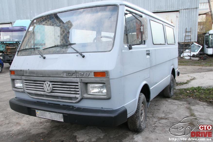polnaya pokraska mikroavtobusa volkswagen lt 28 2061 Полная покраска микроавтобуса   Volkswagen LT 28. Капремонт двигателя. Антикоррозийная обработка