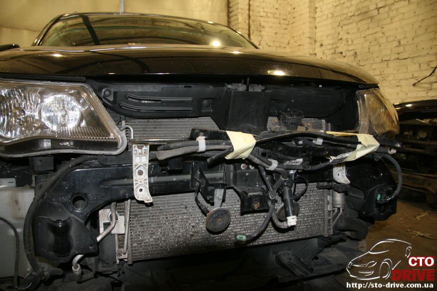 remont bamperov rihtovka pokraska avto mitsubishi outlander xl 2942 Ремонт бамперов, рихтовка, покраска авто   Mitsubishi Outlander XL