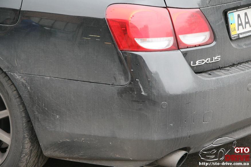 rihtovka i pokraska avto lexus gs300 1001 Рихтовка и покраска авто   Lexus GS300