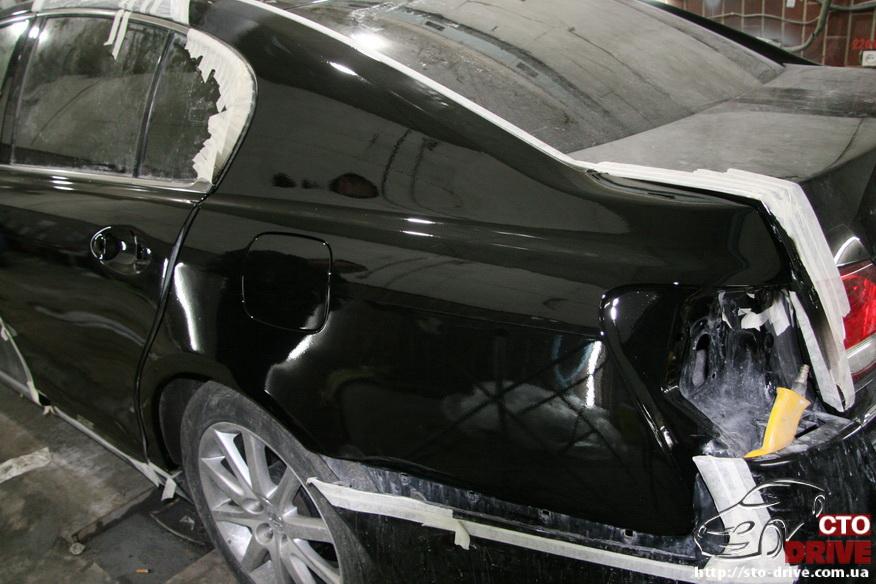 rihtovka i pokraska avto lexus gs300 2669 Рихтовка и покраска авто   Lexus GS300