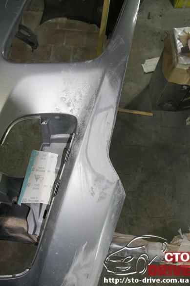 pokraska bampera mazda 6 mps 6320 Покраска бампера   Mazda MPS 6