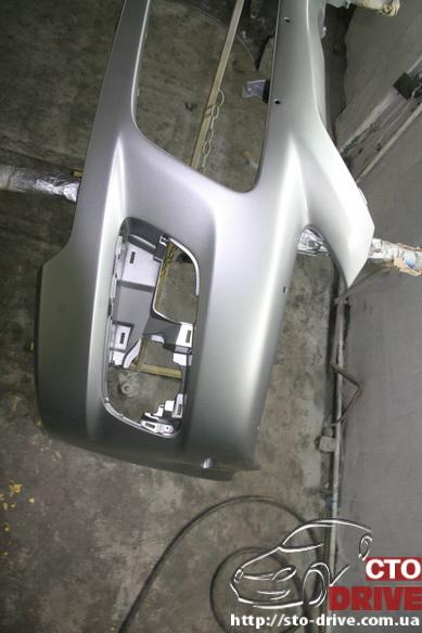 pokraska bampera mazda 6 mps 6383 Покраска бампера   Mazda MPS 6