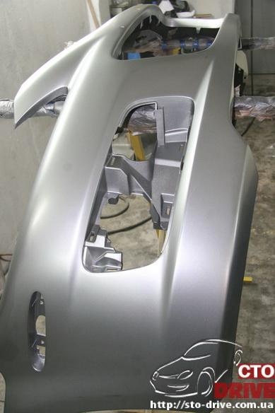 pokraska bampera mazda 6 mps 6387 Покраска бампера   Mazda MPS 6