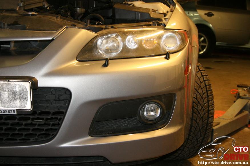 pokraska bampera mazda 6 mps 6416 Покраска бампера   Mazda MPS 6