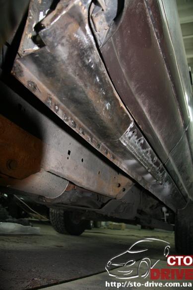 remont porogov ford explorer tolko svarochnyie rabotyi 6961 Ремонт порогов   Ford Explorer. Только сварочные работы