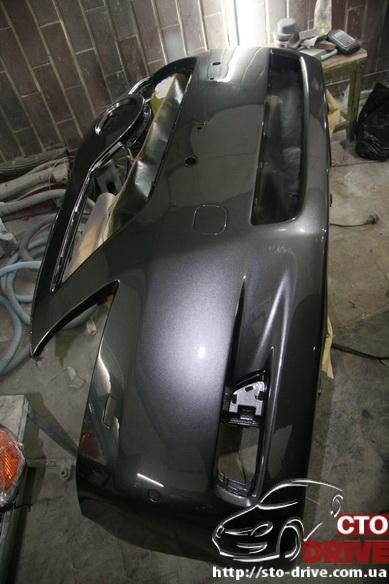 rihtovka dveri stoyki zamena kryila pokraska avto toyota camry 6409 Рихтовка двери, стойки, замена крыла, покраска авто   Toyota Camry