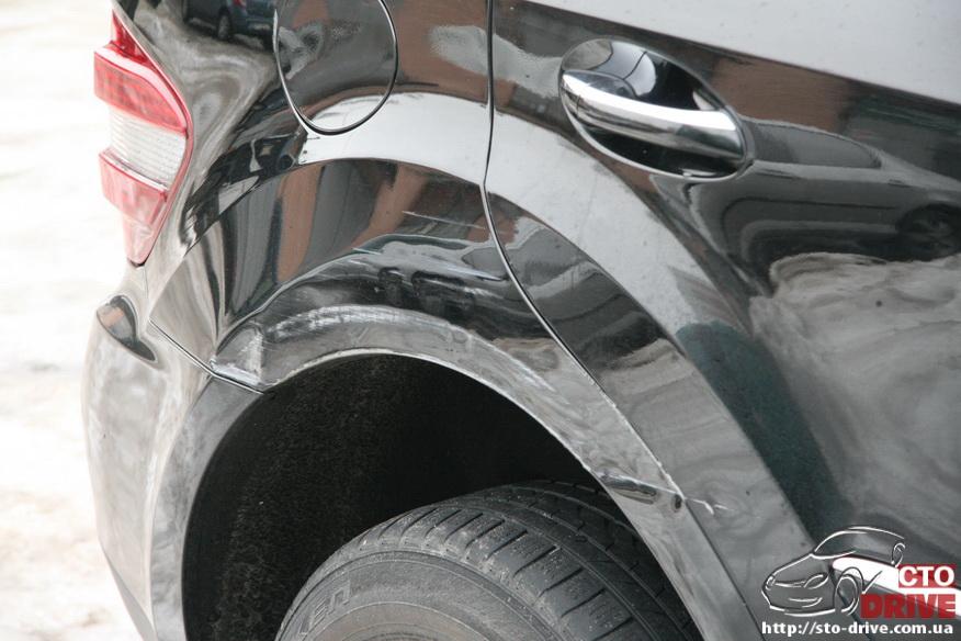 rihtovka pokraska dverey i zadnego kryila mercedes ml350 6472 Рихтовка, покраска дверей и заднего крыла   Mercedes ML350