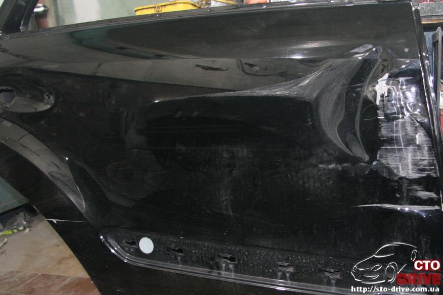 rihtovka pokraska dverey i zadnego kryila mercedes ml350 6729 Рихтовка, покраска дверей и заднего крыла   Mercedes ML350
