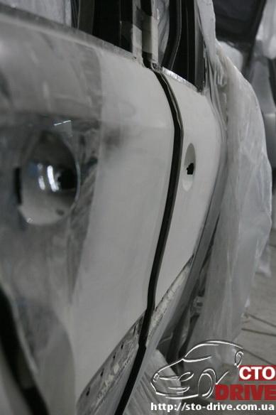 rihtovka pokraska dverey i zadnego kryila mercedes ml350 7630 Рихтовка, покраска дверей и заднего крыла   Mercedes ML350