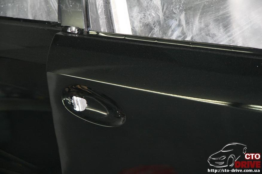 rihtovka pokraska dverey i zadnego kryila mercedes ml350 7813 Рихтовка, покраска дверей и заднего крыла   Mercedes ML350