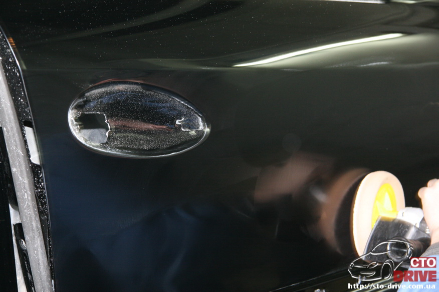 rihtovka pokraska dverey i zadnego kryila mercedes ml350 7990 Рихтовка, покраска дверей и заднего крыла   Mercedes ML350