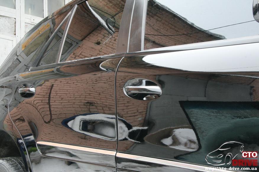 rihtovka pokraska dverey i zadnego kryila mercedes ml350 8023 Рихтовка, покраска дверей и заднего крыла   Mercedes ML350