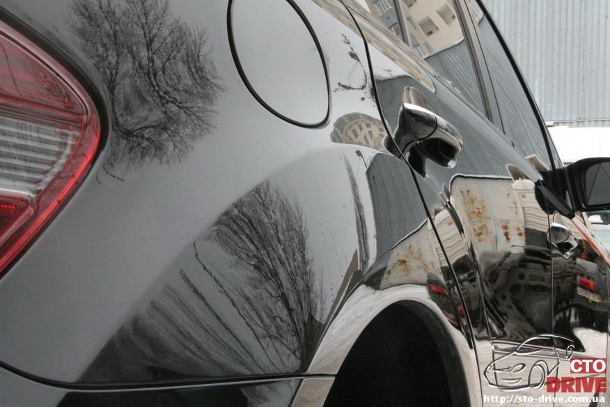 rihtovka pokraska dverey i zadnego kryila mercedes ml350 8024 Рихтовка, покраска дверей и заднего крыла   Mercedes ML350