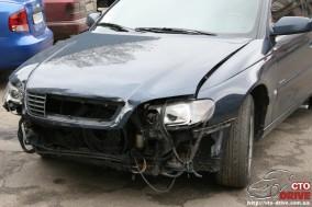 rihtovka pokraska opel omega 1169 284x189 custom Рихтовка, покраска авто   Opel Omega. Замена передней панели. Восстановление геометрии кузова