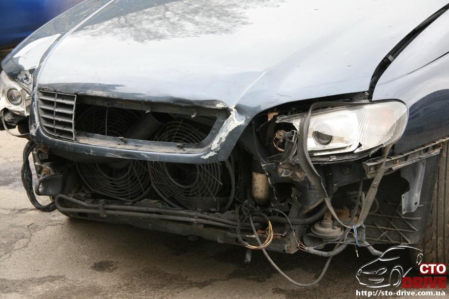 rihtovka pokraska opel omega 1170 Рихтовка, покраска авто   Opel Omega. Замена передней панели. Восстановление геометрии кузова