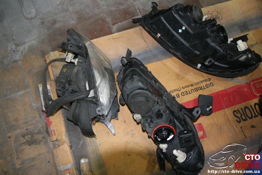 rihtovka pokraska opel omega 2412 Рихтовка, покраска авто   Opel Omega. Замена передней панели. Восстановление геометрии кузова