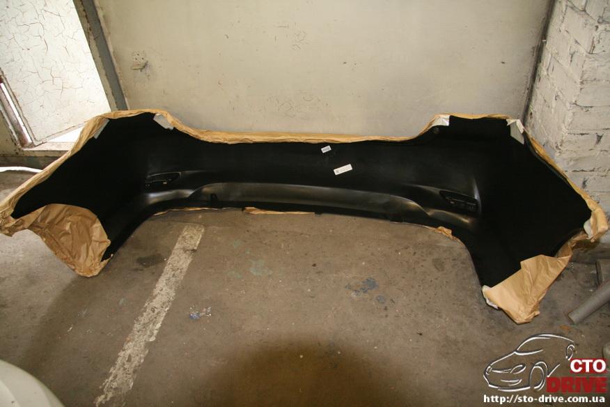 zamena zadnego kryila toyota corolla pokraska avto kiev 3794 Замена заднего крыла   Toyota Corolla. Покраска авто Киев