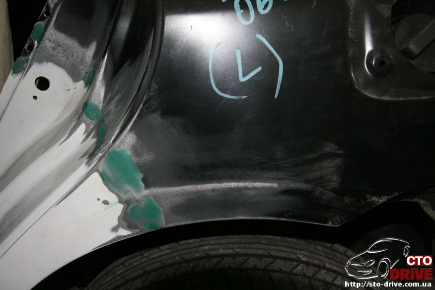 zamena zadnego kryila toyota corolla pokraska avto kiev 3883 Замена заднего крыла   Toyota Corolla. Покраска авто Киев